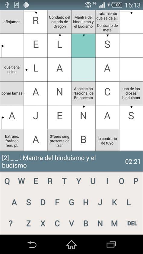 Crucigramas para Android Descargar Gratis