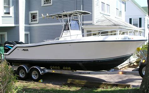 25 Ft Boats For Sale In Florida by 2000 25 Mako Center Console W Trailer 30 000 The Hull