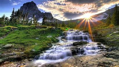 Mountain Definition Sunset Wallpapers Nature