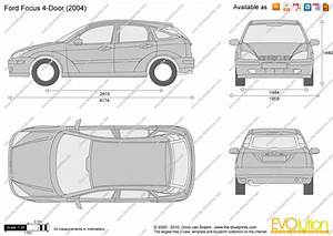 Dimension Ford Focus 3 : ford focus 4 door vector drawing ~ Medecine-chirurgie-esthetiques.com Avis de Voitures