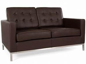Lounge Möbel 2 Sitzer : lounge knoll 2 sitzer braun ~ Bigdaddyawards.com Haus und Dekorationen