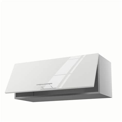 meubles de cuisine blanc meuble de cuisine haut blanc 1 porte h 35 x l 90 x p