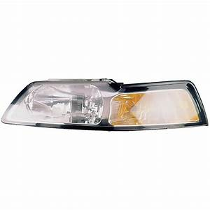 2000 Ford Mustang Headlight Assembly Left Driver Side 16-00731 AN