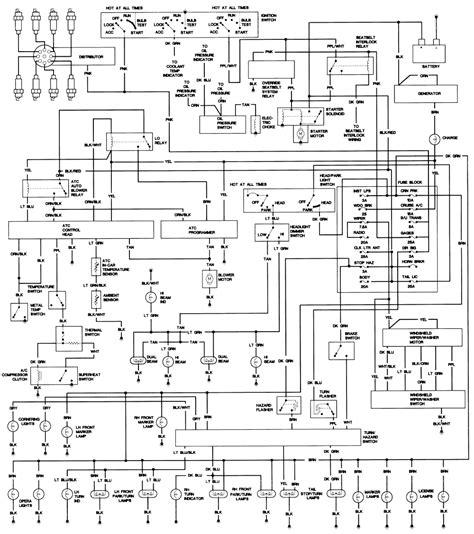 1971 1980 cadillac wiring diagrams the car manual project