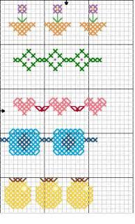 Free Cross Stitch Patterns Borders