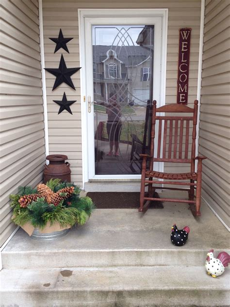 Small Porch Chairs by My Primitive Porch Barn A Big Quot Welcome Quot Sign
