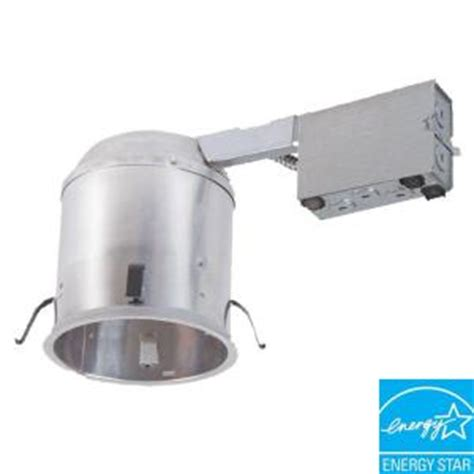halo h750 6 in aluminum led recessed lighting housing for