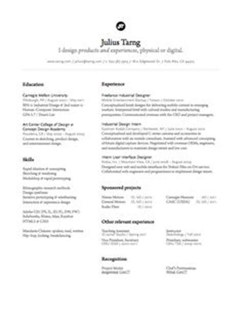resume inspiration on resume resume layout