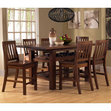 pub set table small high top kitchen with storage