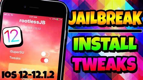 new how to jailbreak ios 12 12 1 2 install tweaks ios 12 jailbreak iphone ipod 2019