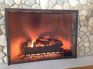 Buy, A, Hand, Made, Custom, Textured, Fireplace, Screen, Made, To, Order, From, Iron, It, Out