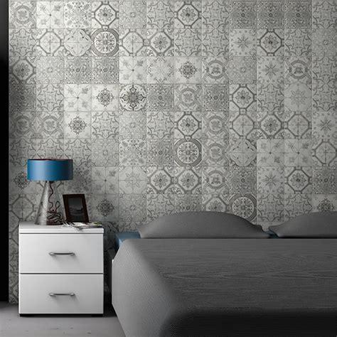antalya grey pattern cm  cm wall tile