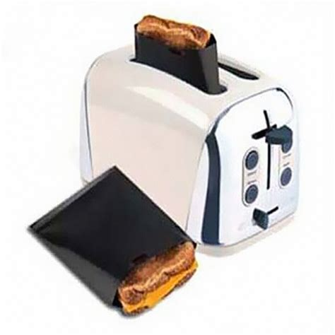 Toaster Bags by Reusable Toaster Bag Sandwich Bags Non Stick Bread Bag
