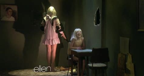 sia performs chandelier on the show
