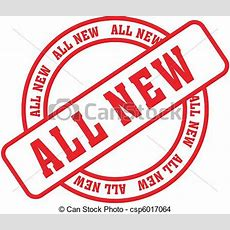 All New Word Stamp6 All New In Vector Format