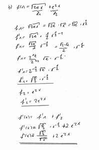 Ionisierungsenergie Berechnen : wurzel ableitung von wurzeln mit e funktion b f x 2e x e 2x mathelounge ~ Themetempest.com Abrechnung