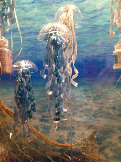 cute simple ocean  ariel themed party decorations