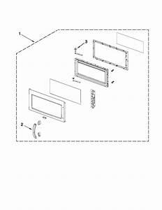 Kitchenaid Khmc1857wwh0 Microwave  Hood Combo Parts