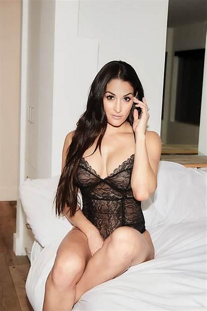 Bella Nikki Wwe Divas Brie Lingerie Twins