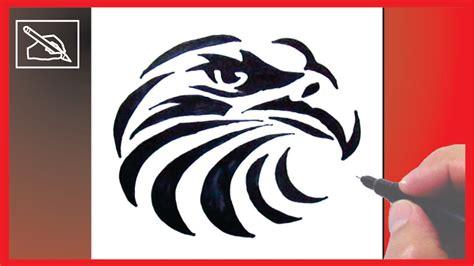 como dibujar  tatuaje de aguila   draw  eagle tattoo dibujando youtube