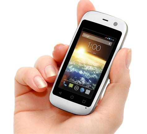 Tiny Häuser Mobil by Tiny Posh Mobile Micro X S240 Android Smartphone Has 2 4