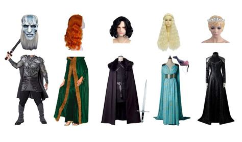 How To Make Your Own Game Of Thrones Halloween Costumes