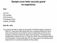Sample Cover Letter Security Guard No Experience Entry Level Cover Letter No Experience By Angela Jobseeker Best Custom Paper Writing Services Cover Letter For Cover Letter Sample No Work Experience Cover Letter
