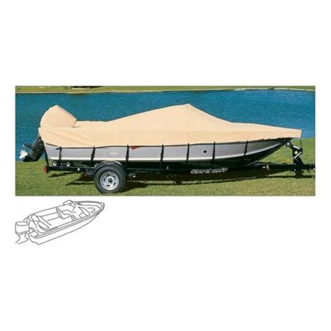 Cabela S Boat Covers by Cabela S Ratchet Tite Boat Cover V Hull Outboard