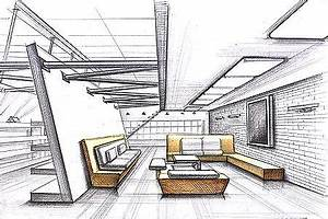 interior design sketches 1 interior design sketches With beautiful plan de maison design 1 lintemporel dessin design architecture