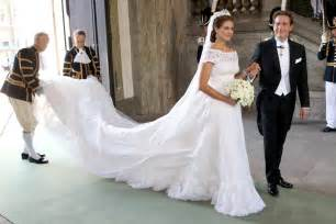 brautkleid princess the royal order of sartorial splendor princess madeleine s wedding the