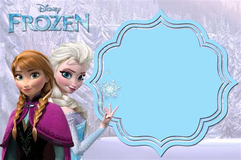 printable frozen invitation templates bagvania