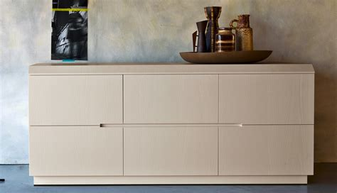 Zanette Morfeo Italian wide chest of drawers 6 drawer chest   Robinsons Beds