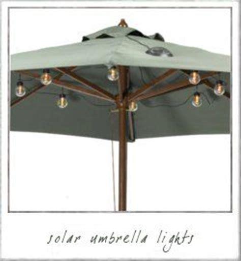 25 best ideas about patio umbrella lights on