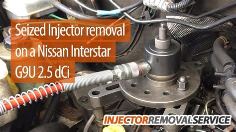 seizedstuck diesel injector removal