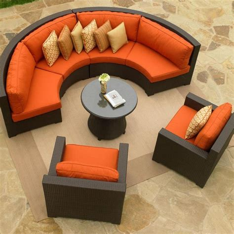 semi circle outdoor patio furniture tips and guide how to choose contemporary furniture