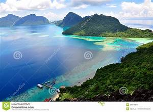 Pulau, Bohey, Dulang, Sabah, Stock, Photo, Image, Of, Snorkeling