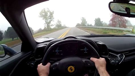 ferrari  spider wr tv pov test drive youtube