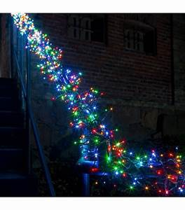 Guirlande Lumineuse Led Exterieur : guirlande lumineuse ext rieur led 768 diodes ~ Melissatoandfro.com Idées de Décoration