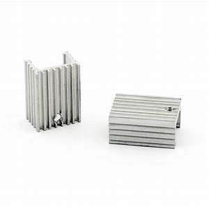 40pcs Heat Sink Cooler 15x10x21mm Radiator For Power Cpu