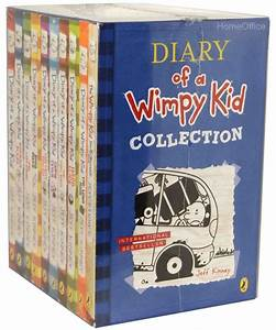 Diary Of A Wimpy Kid Collection 10 Books Set Collection