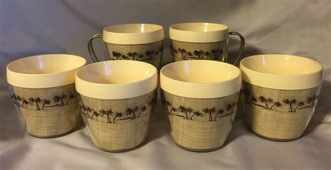 Calgary was the most expensive city to buy a cup of. 1960s Vintage Thermal Coffee Cups with Burlap and Palm ...