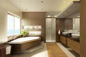 Grande Baignoire D Angle : comment cr er une salle de bain contemporaine 72 photos ~ Edinachiropracticcenter.com Idées de Décoration