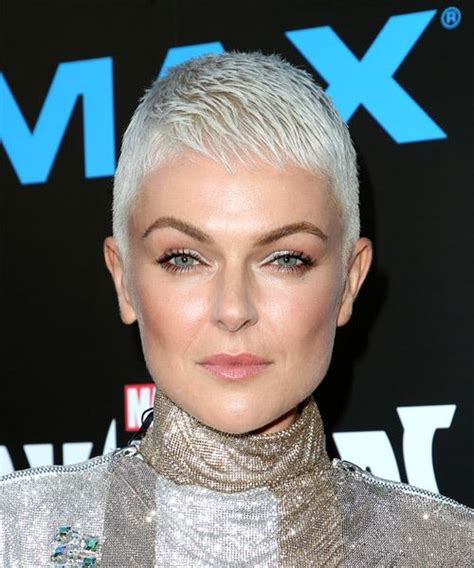 serinda swan short straight formal pixie hairstyle