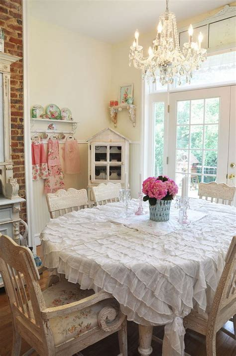shabby chic dining room ideas awesome tables chairs