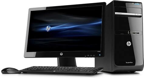 ordinateur hp de bureau hp p6 2352efm ecran hp 2211x 21 5 39 39 hd led c3v97ea