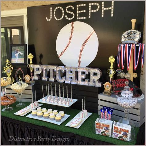 baseball birthday party ideas photo    catch  party