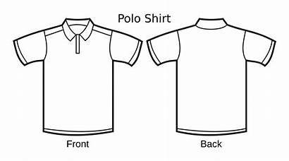 Polo Shirt Template Clipart Clip Polos Artwork