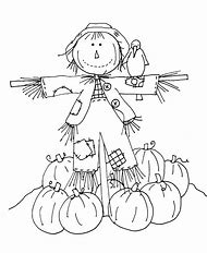 Best Scarecrow Coloring Pages - ideas and images on Bing | Find what ...