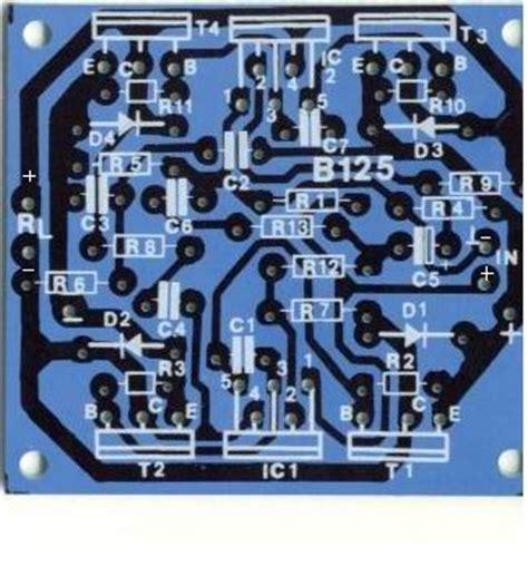 transistor audio amplifier circuit