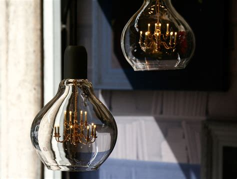 battaglia suspends a chandelier inside a lightbulb